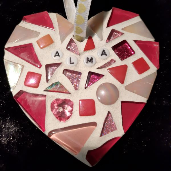 Personalised mosaic heart by Gifts to Celebrate and Commemorate