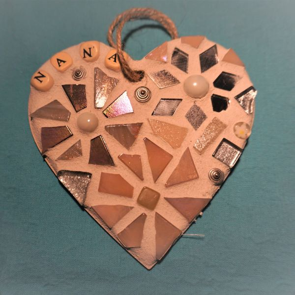 Nana mosaic heart by Gifts to Celebrate and Commemorate