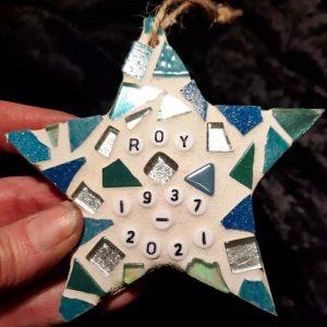 Memorial Star 10cm – Made to Order