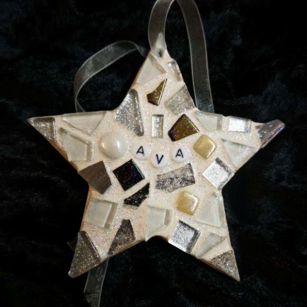 Memorial mosaic start for loved one by Gifts to Celebrate and Commemorate