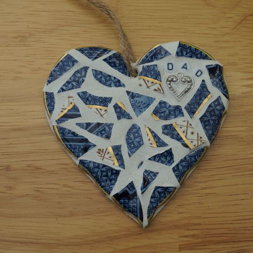 Dad memorial heart by Gifts to Celebrate and Commemorate
