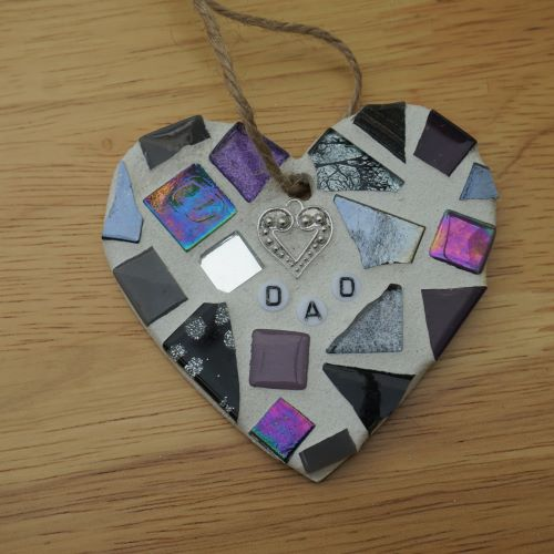 Memorial heart for dad by Gifts to Celebrate and Commemorate