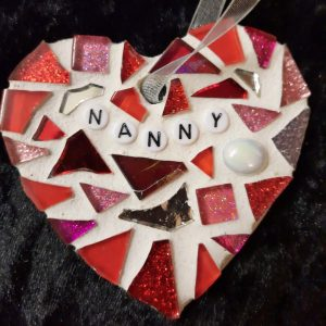 Memorial Heart 8cm – Made to Order