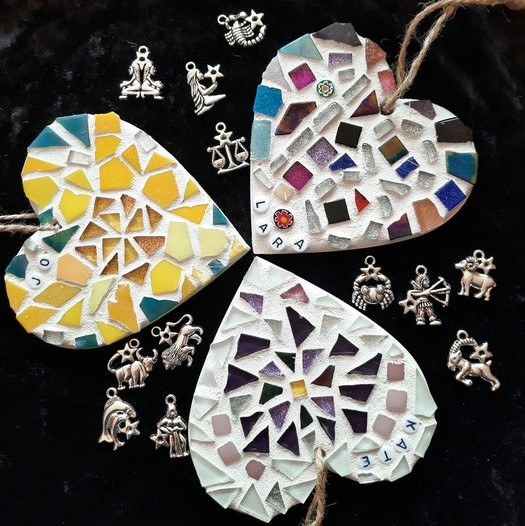 Horoscope mosaic heart by Gifts to Celebrate and Commemorate