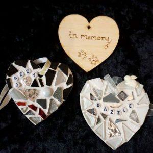 Pet Memorial Heart 8cm – Made to Order