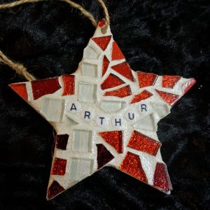 Mosaic celebration star by Gifts to Celebrate and Commemorate