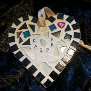 Pet Memorial Heart 10cm – Made to Order