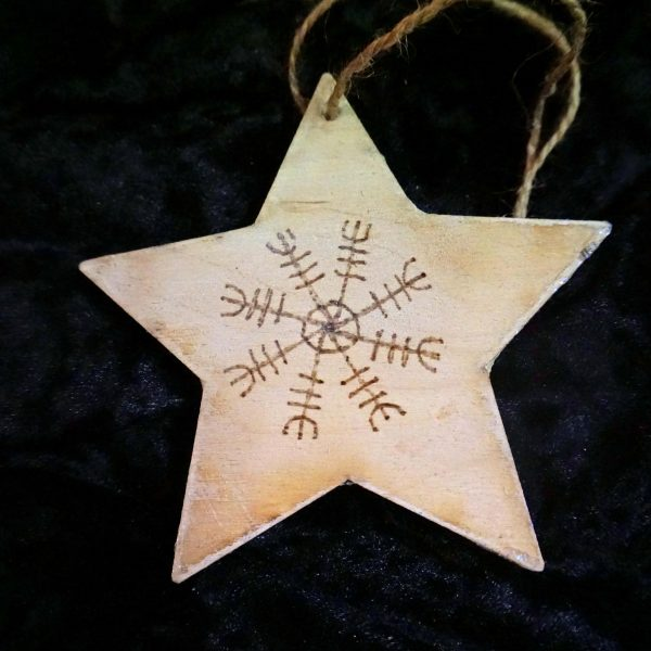 Back of Mosaic star by Gifts to Celebrate and Commemorate