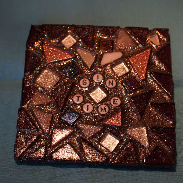 Personalised mosaic coaster by Gifts to Celebrate and Commemorate
