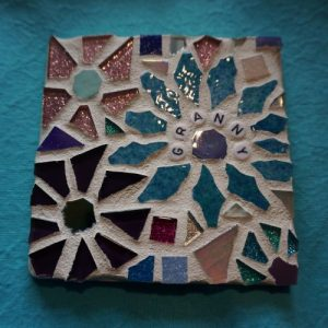 Personalised Mosaic Coaster – Made to Order