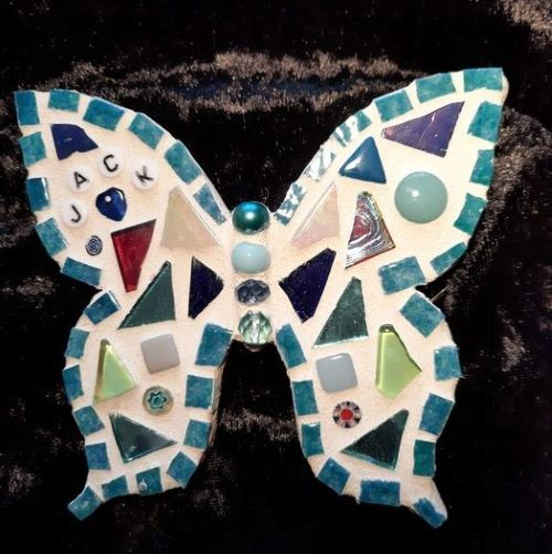 Personalised mosaic butterfly by Gifts to Celebrate and Commemorate