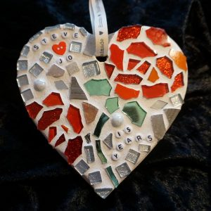 Large Celebration Heart 15cms – Made to Order