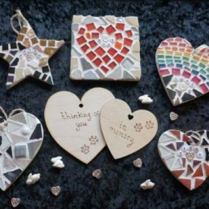 Pet memorial mosaics by Gifts to Celebrate and Commemorate