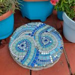 mosaic stepping stone by gifts to celebrate and commemorate