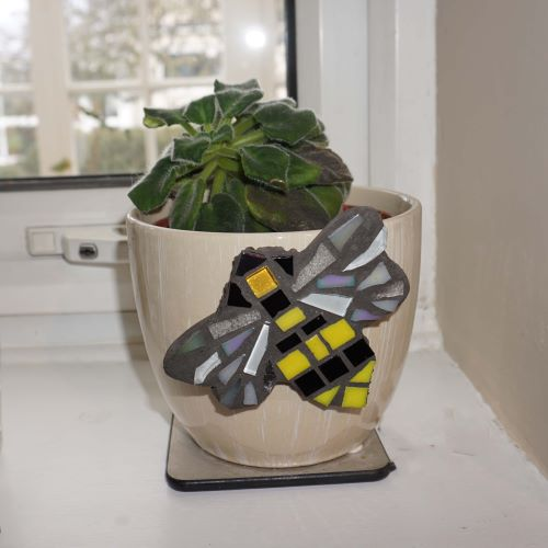 Bee mosaic by gifts to celebrate and commemorate