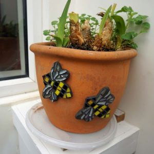 Mosaic Bees – Fridge Magnet or Sticky. Pre-made and Ready for Dispatch!