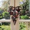 Chunky vintage inspired mosaic heart by Gifts to Celebrate and Commemorate