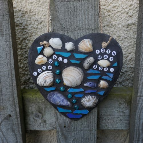 Cornwall memories mosaic slate by Gifts to Celebrate and Commemorate